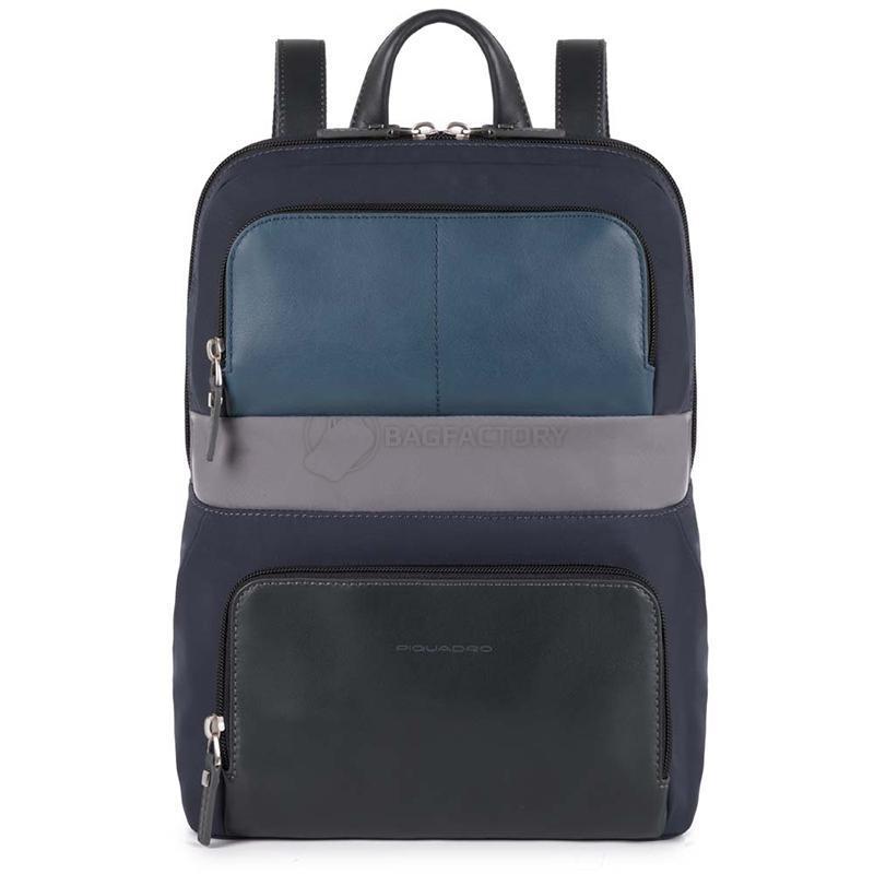 5c2d7b883bdb Городской рюкзак Piquadro MICHAEL Blue с отделением для ноутбука 11
