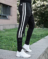 Штани Pobedov trousers sushi чорні з білим