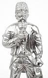 Стара статуетка, шахтар, олово, лиття, Німеччина, фото 7