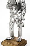 Стара статуетка, шахтар, олово, лиття, Німеччина, фото 8