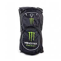Мото рюкзак Monster Energy с гидратором,  черно-зеленый, фото 1