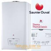 Газовый котел Saunier Duval THEMACLASSIC С 25 UN UA (двухконтурный дымоходный 25 кВт)