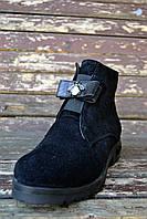 Замшевые ботинки , фото 1