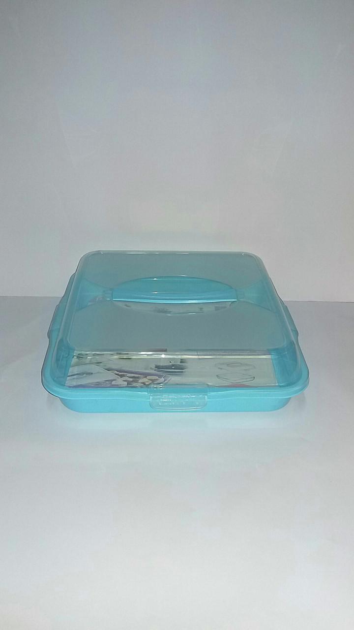Коробка  для переноски торта 30 х 30 см