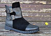 Стильные ботинки с пряжками, фото 1