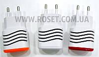 Адаптер питания от сети 220V - Smart Mini USB x 2, фото 1