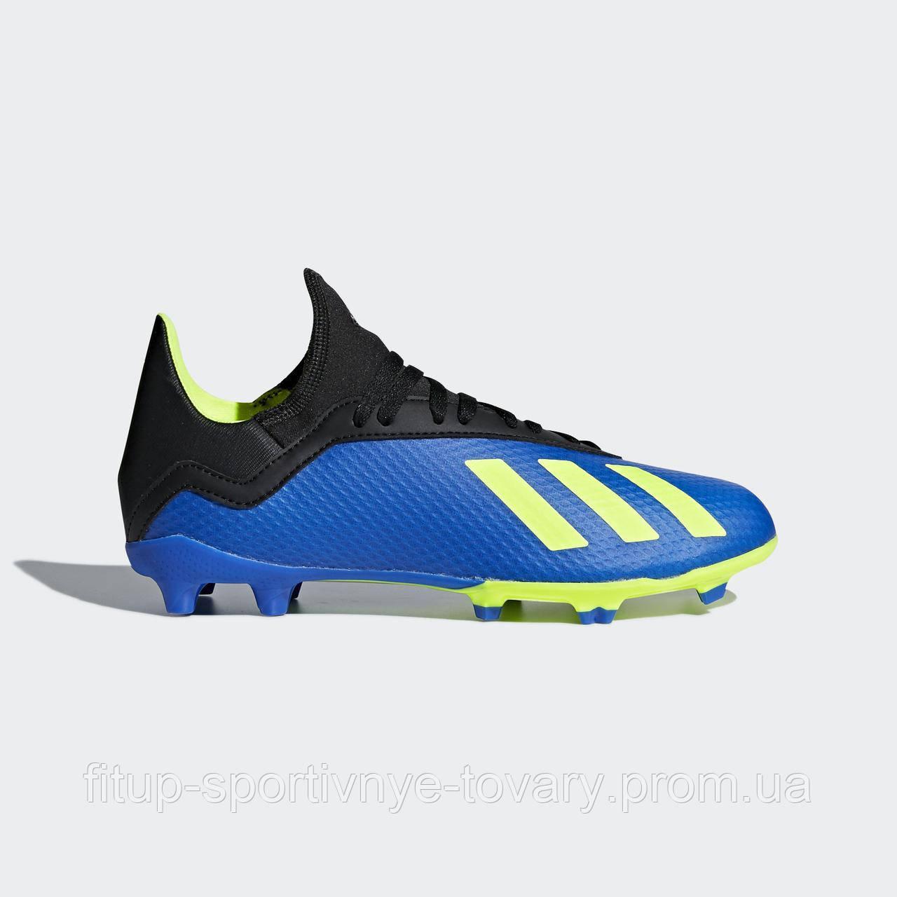 Бутсы детские Adidas X 18.3 FG J DB2416 - FITUP. Спортивные товары в Киеве 7e481eca739
