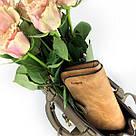 Женский кошелек в стиле Baellerry Forever коричневый замша pu, фото 2