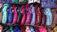 Жилетка детская для мальчика и для девочки демисезон на синтепоне с капюшоном 92-116 и 116-140 размеры