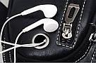 Сумка - рюкзак на одно плечо слинг в стиле Jeep черная, фото 3
