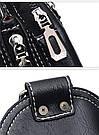 Сумка - рюкзак на одно плечо слинг в стиле Jeep черная, фото 7