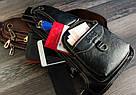 Сумка - рюкзак на одно плечо слинг в стиле Jeep черная, фото 9