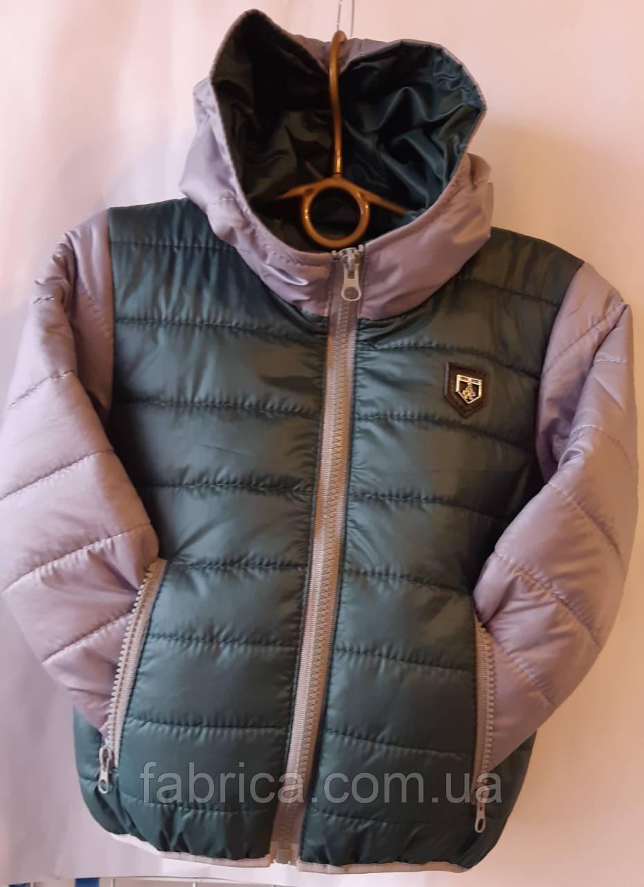 Куртки детские демисезон 92-116 размеры в разных расцветках