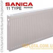 Радиатор стальной SANICA 11 300x1600 (пр-во Турция, 11 класс, высота 300 мм)