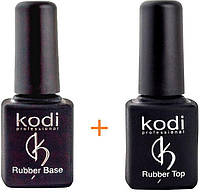 Rubber Base Kodi Professional 8 ml + Rubber Top Kodi Professional 8 ml \ Топ и база Коди 8 мл