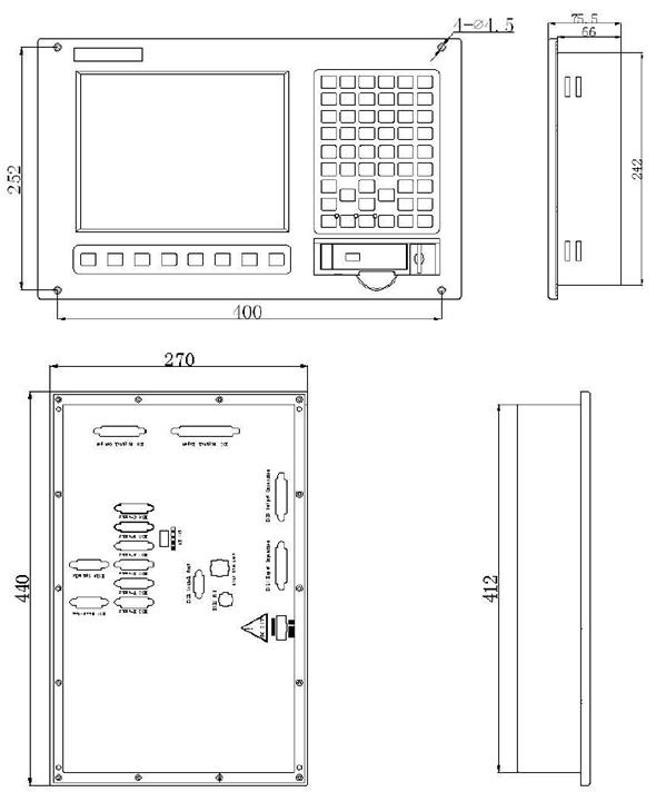 Система ЧПУ CNC4940 для фрезерных станков