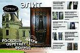 """Вхідні двері для вулиці """"Порталу"""" (Еліт Vinorit) ― модель Каліфорнія, фото 6"""