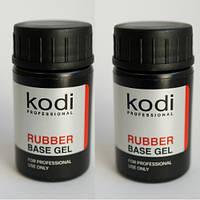 База и топ Коди для гель-лака (Rubber Base Kodi 14 ml + Rubber Top Kodi 14 ml)