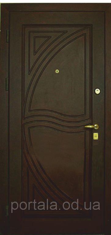 """Входная дверь для улицы """"Портала"""" (Элит Vinorit) ― модель Парус"""