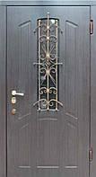 """Входная металлическая дверь для улицы """"Портала"""" (серия Элит Vinorit) ― модель BIG-14"""