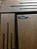 """Входная дверь с ковкой и стеклом """"Портала"""" (серия PatinaElit) ― модель М-1 Vinorit, фото 2"""