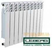 Радиатор алюминиевый LEBERG 500-80 aluminum - АКЦИОННАЯ ЦЕНА