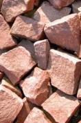 Камень для бани и сауны Малиновый кварцит 20 кг