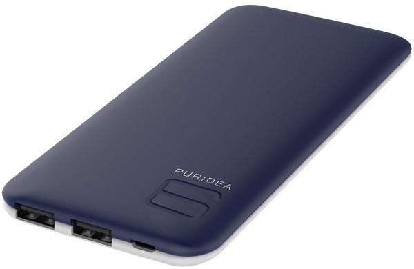 Портативное зарядное устройство Puridea S4 6000mAh Li-Pol (Rubber Blue - White)