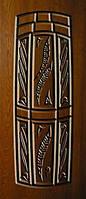 """Стальные входные двери """"Портала"""" (серия Элит) ― модель АМ18 Patina, фото 1"""