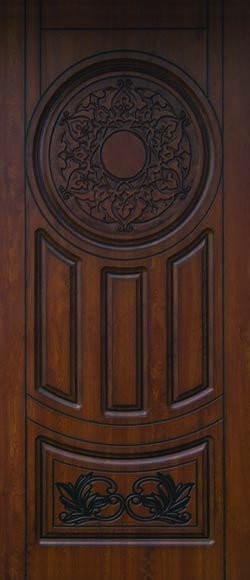 """Входная дверь """"Портала"""" (серия Элит) ― модель АМ7 Patina"""