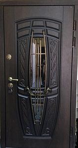 "Входная дверь ""Портала"" (Premium NEW) ― Монако АМ18 Vinorit*2 (3-D, патина)"
