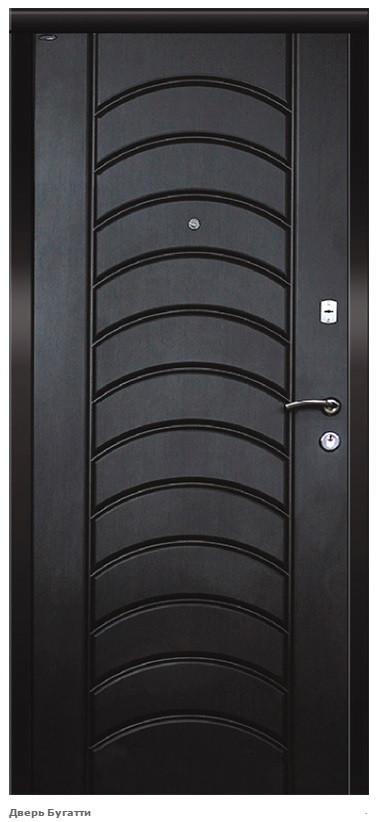 """Входная дверь """"Портала"""" (серия Премиум) ― модель Бугатти"""