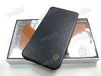 Кожаный чехол Nillkin Qin Samsung Galaxy J6 2018 J600 (черный)
