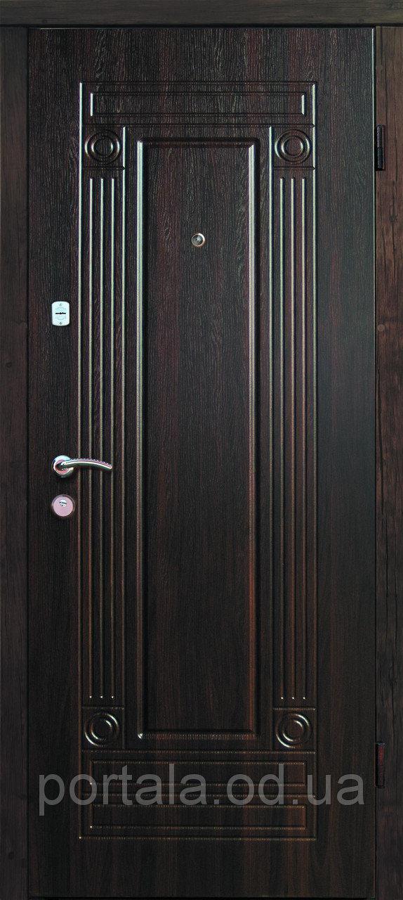"""Входная дверь для улицы """"Портала"""" (Люкс Vinorit) ― модель Гарант"""