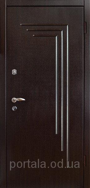 """Входная дверь для улицы """"Портала"""" (Люкс Vinorit) ― модель Гамбург"""
