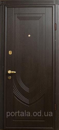 """Входная дверь для улицы """"Портала"""" (Люкс Vinorit) ― модель Турин"""