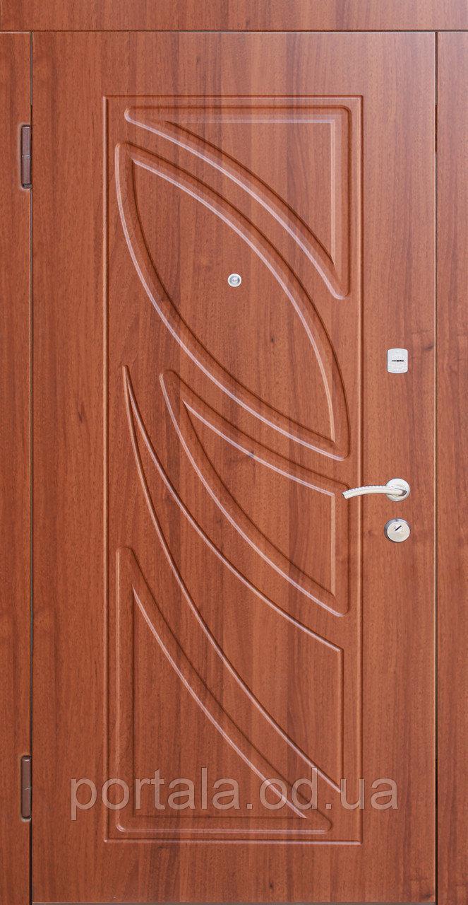 """Входная дверь для улицы """"Портала"""" (Люкс Vinorit) ― модель Пальмира"""