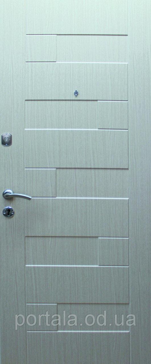 """Входная дверь для улицы """"Портала"""" (Люкс Vinorit) ― модель Пазл"""