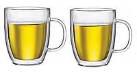 Набор из 2 чашек с двойными стенками Bodum BISTRO, 0,45 л. (10606-10)