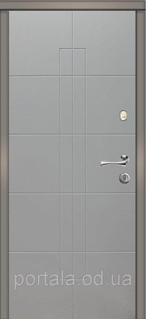 """Входные стальные двери """"Портала"""" (серия Стандарт) ― модель Линкольн"""