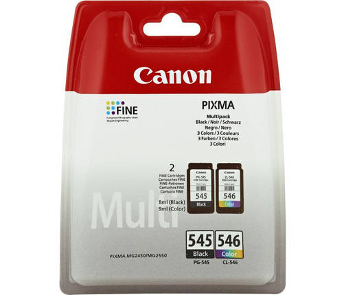 Картриджі Canon PG-545-CL-546 Multipack (8287B005), фото 2