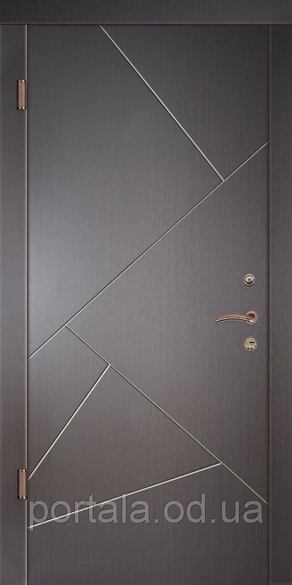 """Входная дверь """"Портала"""" (серия Комфорт) ― модель Грация 3"""