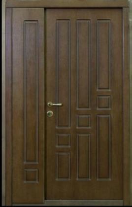 """Входные металлические бронированные двери  """"Портала"""" (Стандарт) ― модель Геометрика"""