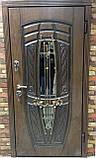 """Входная дверь """"Портала"""" (Premium) ― Монако АМ18 Vinorit*2 (3-D, патина), фото 2"""