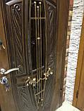 """Входная дверь """"Портала"""" (Premium) ― Монако АМ18 Vinorit*2 (3-D, патина), фото 3"""