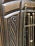 """Входная дверь """"Портала"""" (Premium) ― Монако АМ18 Vinorit*2 (3-D, патина), фото 4"""
