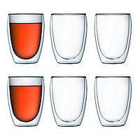 Набор стаканов с двойными стенками Bodum Pavina  0,35 л., 6 шт (4559-10-12)