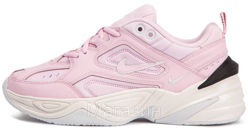... Женские кроссовки Nike M2K Tekno Pink Найк розовые brand sale 9885d  8c205 ... ab473322998e5
