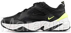 Мужские кроссовки Nike M2K Tekno Black AO3108-002 Найк Текно черные