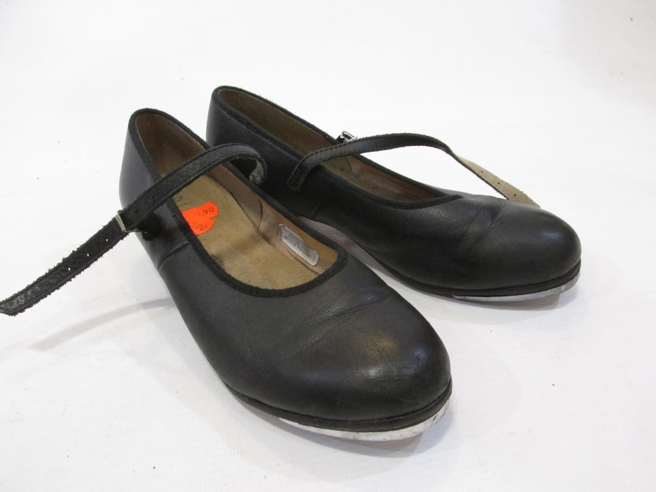 Туфли для степа Bloch, 7.5 (37. 23.5 см), кожа, Отл сост!